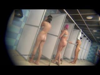 Скрытая камера в женском душе в пту