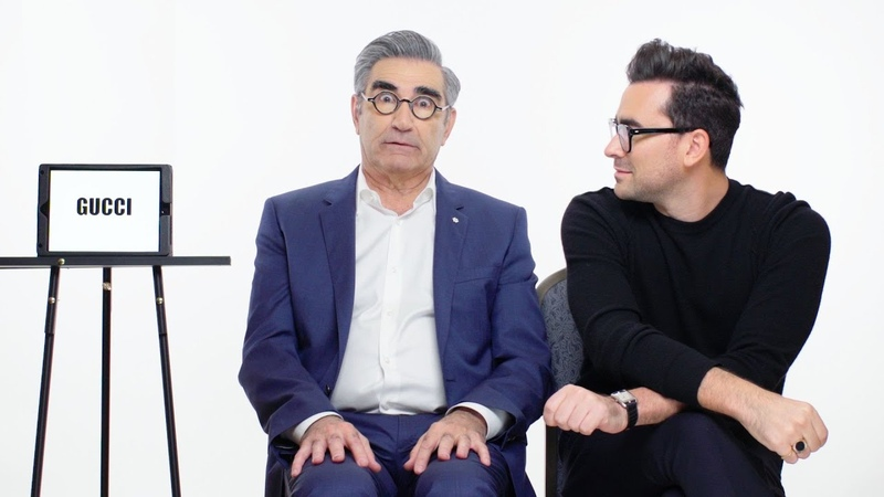 Schitts Creeks Eugene and Dan Levy Teach You Youth Slang | Vanity Fair