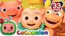 Head Shoulders Knees and Toes | More Nursery Rhymes Kids Songs - CoCoMelon