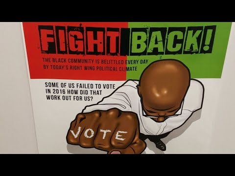 Fight Back Campaign To Get People Out To Vote