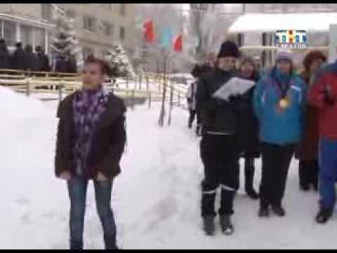 В саратовском училище интернате для инвалидов сегодня прошли соревнования по зимним видам спорта