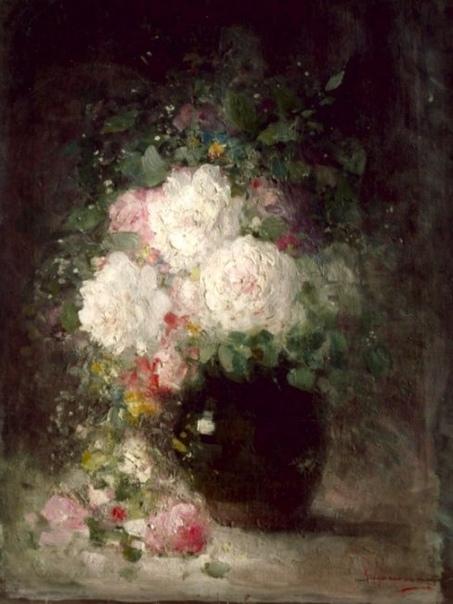 Цветы Николае Григореску, Nicolae Grigorescu (15 мая 1838 - 1907) крупнейший румынский художник.