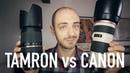Tamron 70 300mm VC vs Canon 70 200mm f 4L
