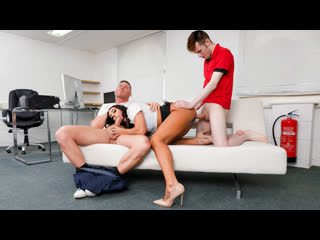 [private] christina may - horny milf debuts with threesome newporn2019