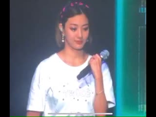 """Jihyo talked about how mature she should be as Twice member facing all of the hard time.  """"I'm between 23 and 24 and I didn't kn"""