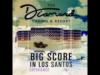 The diamond casino & resort score big in los santos