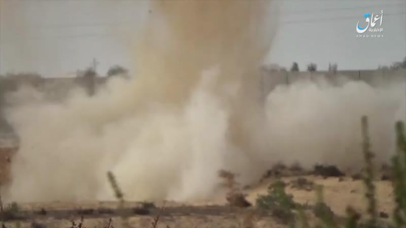 Подрыв египетского БТР YPR-765 на Синае.