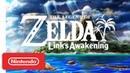 The Legend of Zelda Link's Awakening Announcement Trailer Nintendo Switch