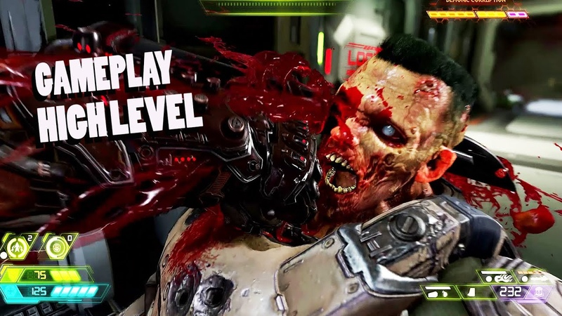 DOOM ETERNAL : 14 min gameplay High Level (1080p 60fps)
