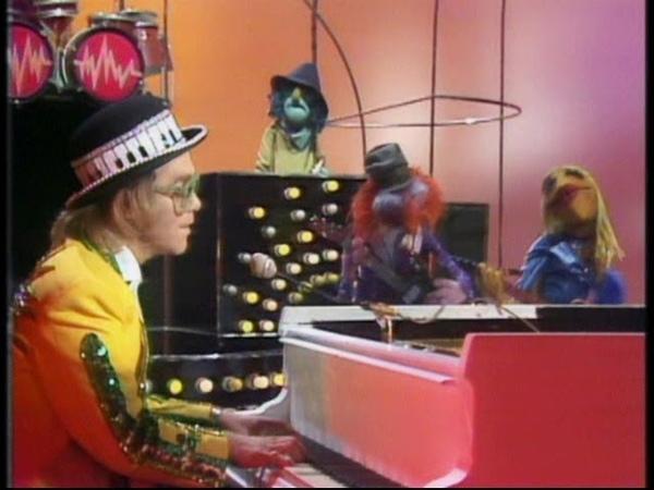 Elton John - Goodbye Yellow Brick Road 1972 (High Quality, Muppet Show 1977)