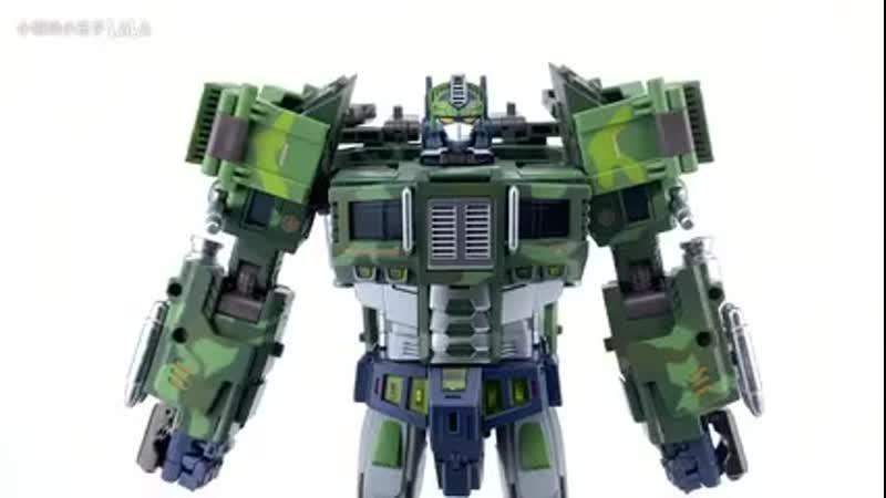 TFC Toys - ST-01B Grand Patriot (Rolling Thunder Prime, Jungle version)