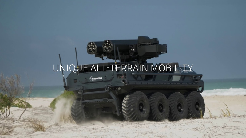 Rheinmetall unveils its Mission Master – Protection at the Ammunition Capability Demo 2019