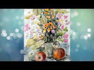 Художник Татьяна Сергина (город Межгорье, проект «Любимые художники Башкирии»)