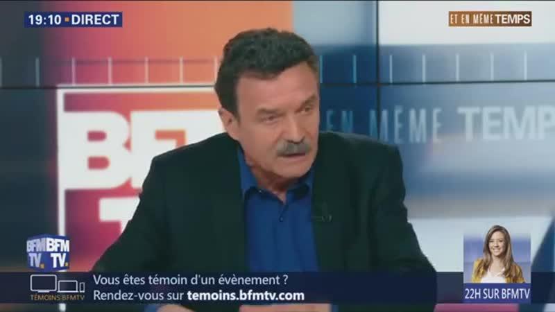 (42) Plenel estime que Macron devrait dissoudre lAssemblée voire démissionner (BFMTV,170319,19h)