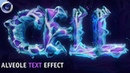 Tutorial: C4D Alveole Text Effect by Qehzy
