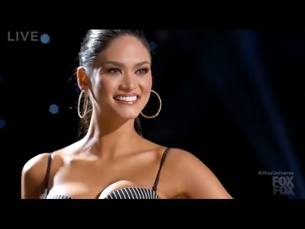 Pia Wurtzbach throwbach swimsuit competition Miss Universe 2015