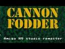 Amiga HQ studio remaster 14 - Cannon Fodder - Title music by Richard Joseph Jon Hare
