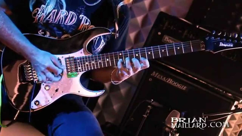 Brian Maillard Performs Another Life Ibanez RG 3550