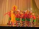Красочный и необычный детский танец