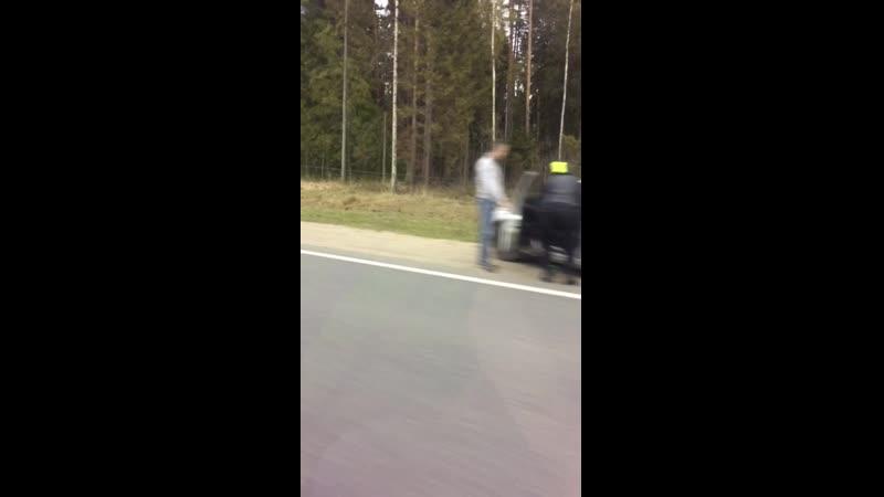 ДТП на М7 развязка поворота на Чернцы