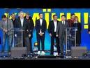Зеленский и Порошенко дебаты с переводом на русский язык LIVE