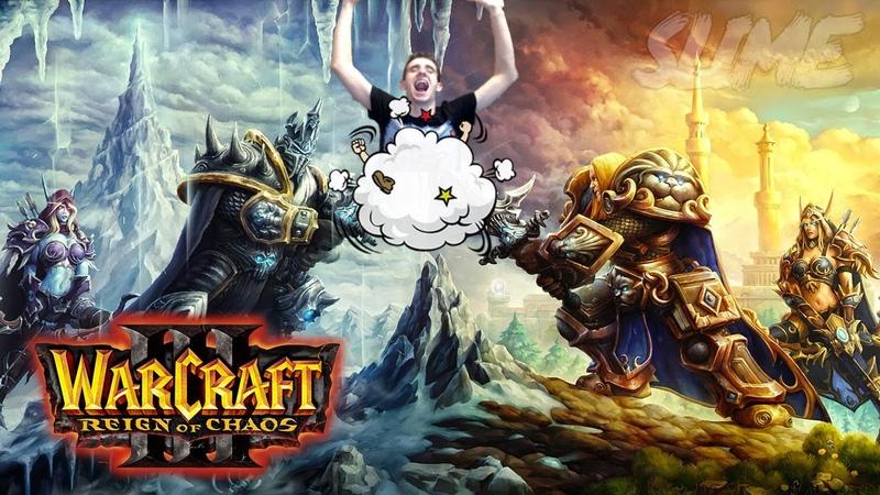 Warcraft 3 TFT - Footman Frenzy | Прессуют с двух сторон (Потная катка)