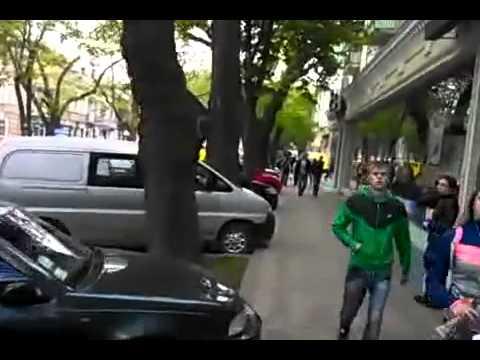 14.40/02.05.2014.Задержание на Александровском проспекте в Одессе.