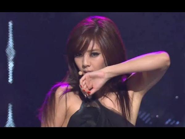 Son Dam-bi - Tears pouring down, 손담비 - 눈물이 주르륵, Music Core 20121117