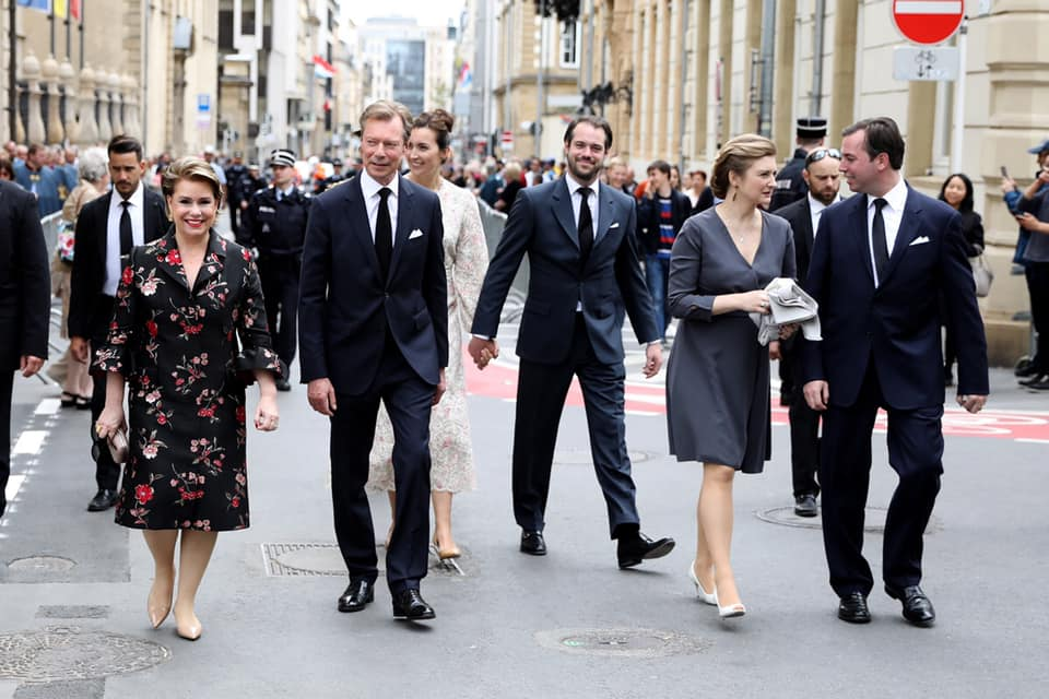 Мероприятия Герцогской семьи Люксембурга 26 мая 2019г.