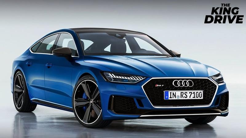 Новое поколение Audi RS7 2019 получит двигатель на 700 л.с.