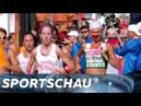 Masuronak gewinnt Marathon trotz Nasenbluten European Championships 2018 Sportschau