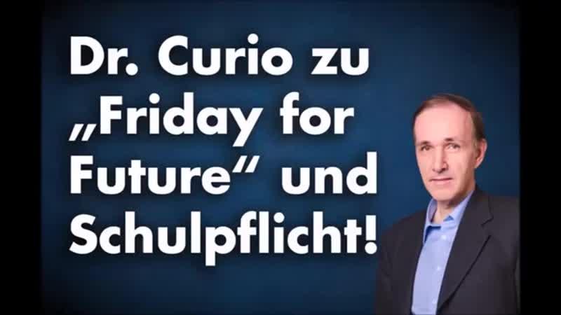 Linke Baupolitik- Klimawahn und -Friday for future- - Dr- Gottfried Curio