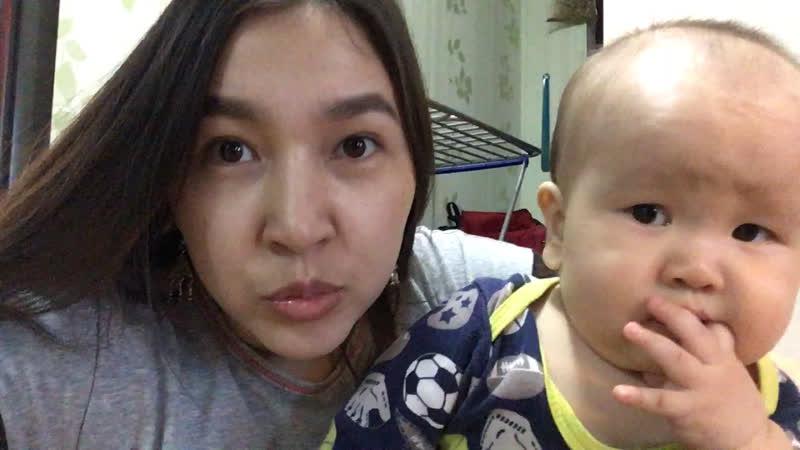 Карапуз и его мама ❤️😘