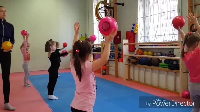 Художественная гимнастика ИСКРА Свеаборгская 10 А 720p