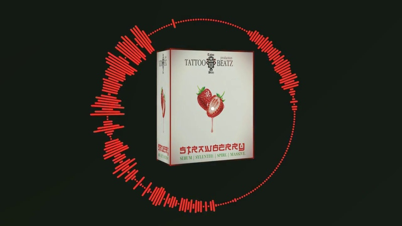 FREE Tattoo Beatz-Strawberry(SERUM x SYLENTH1 x SPIRE x MASSIVE BANK)