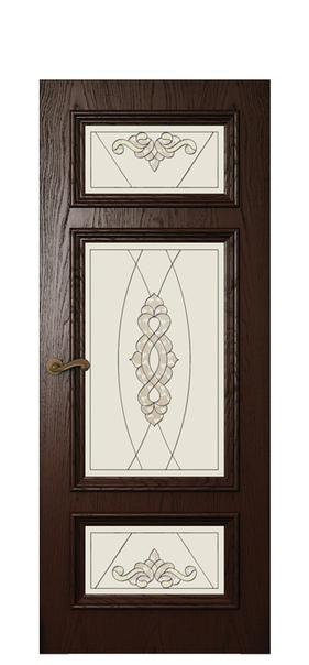 Дверь Магнолия 5, дуб бренди