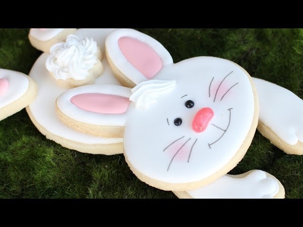 Easter Bunny Gift Set - Easy Decorated Easter Cookies - Easter Bunny Treats