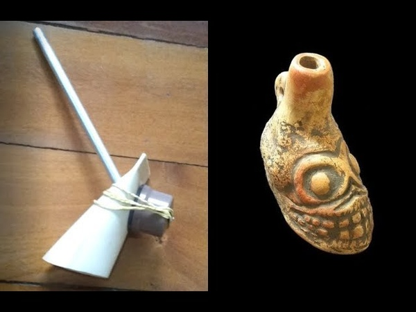How to make an Aztec Death Whistle (without clay)