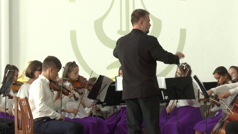 Радуга над Витебском(фр.№3):Волгоградский детский симфонический оркестр