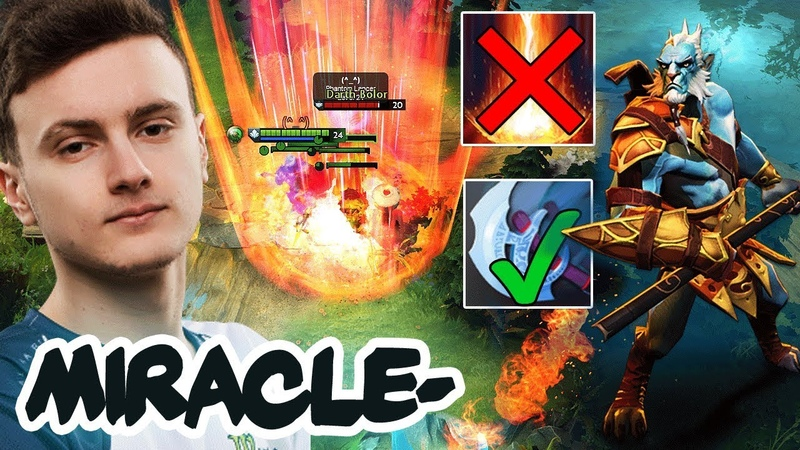 Miracle- on NEW 7.22 Patch Update - EPIC Gameplay , EPIC Dodges, EPIC Miracle - Dota 2 Compilation