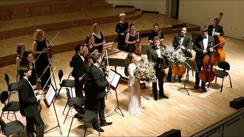 Julia Lezhneva Severnaya Venezia orchestra Agitata da due venti