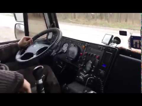 МАЗ 5432 Установили КПП ZF-16 (Выехали проверить)