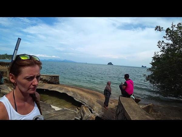 Малайзия Лангкави День 4 Pantai Kok Gunung Raya