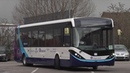 Full sized autonomous bus on test in Manchester