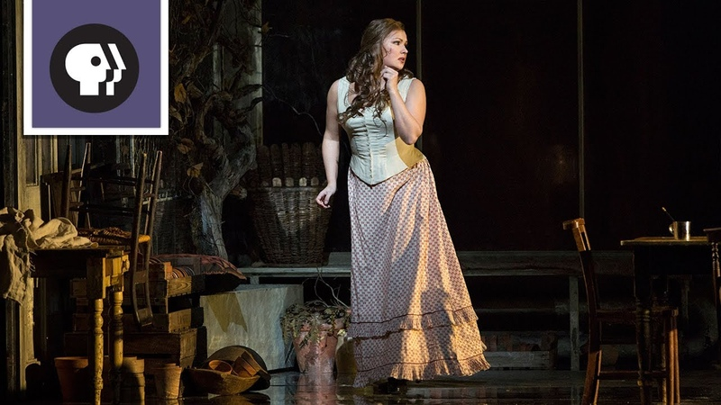 Anna Netrebko in Tatianas letter scene, Eugene Onegin at The Metropolitan Opera