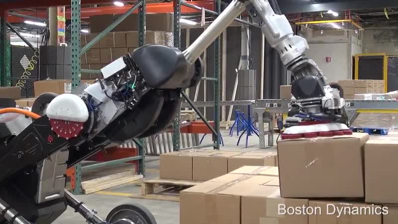 Boston Dynamics is back at it. Youve seen their robots do backflips, run, and even open doors, but now the company is ready for