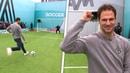 Asmir Begovic's wayward volley goes into audience!