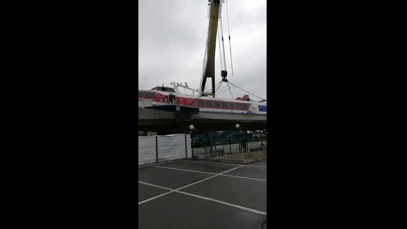 20 апреля 2019 года. судно Олимпия Гермес в Сочи разрежут на металлолом