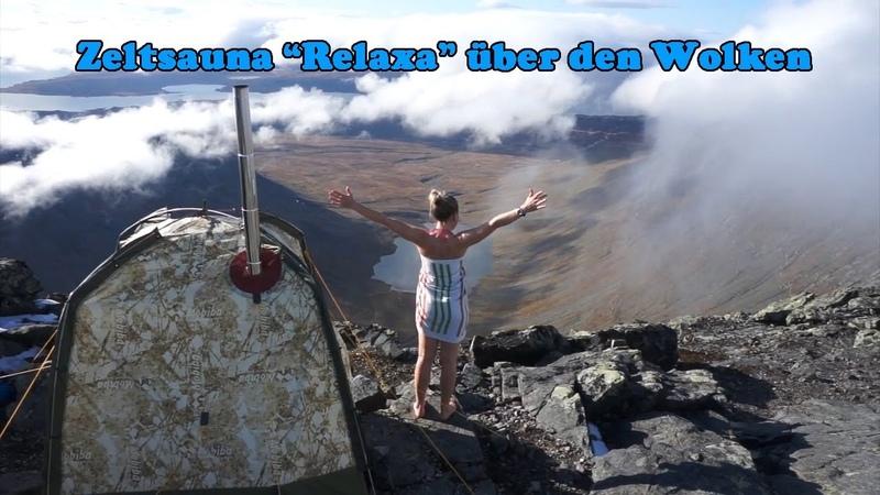 Zeltsauna Relaxa über den Wolken Zeltsaunen und Wohnzelte Marke MOBIBA