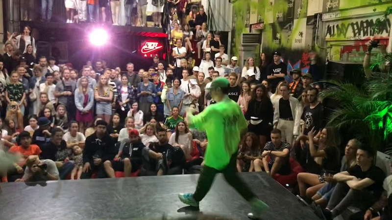 ALIK VS MILKY ROCK |FINAL| NIKE BACKYARD DANCE CONTEST 2